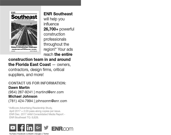 Associated Builders and Contractors, Florida East Coast
